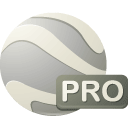 pro, earth Gainsboro icon