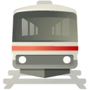 old, transit Gray icon