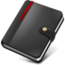 Notebook, Moleskine DarkSlateGray icon