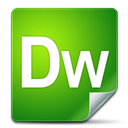 dreamweaver, adobe ForestGreen icon