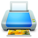 printer, Device Black icon