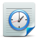 Scheduled, Tasks, document Gainsboro icon