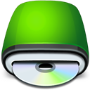 rom, Cd, drive LawnGreen icon