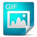 Gif, Filetype DarkCyan icon