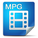 Filetype, mpg SteelBlue icon