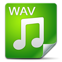 Wav, Filetype ForestGreen icon