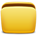 Folder, open Goldenrod icon