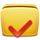 Folder, Options Goldenrod icon