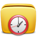 Scheduled, Folder, Tasks Khaki icon