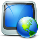 places, my, network RoyalBlue icon