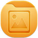 picture, Folder Goldenrod icon