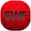 swf Red icon
