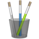 paint Black icon