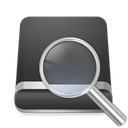 search, drive DarkSlateGray icon