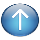 Up SteelBlue icon