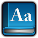 dictionary Teal icon
