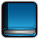 Book, Blank Teal icon