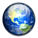 earth Black icon