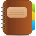 diary SaddleBrown icon