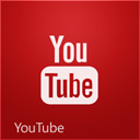 youtube, Px Firebrick icon