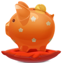 piggybank Chocolate icon
