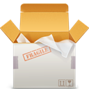 Delivery SandyBrown icon