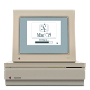 Macintosh DarkGray icon