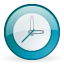 time, Wait, Clock Lavender icon