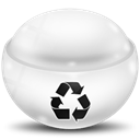 Empty, Trash WhiteSmoke icon