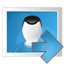 right, image SteelBlue icon