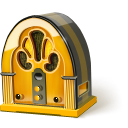 radio SaddleBrown icon