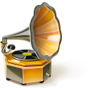Phonograph SaddleBrown icon