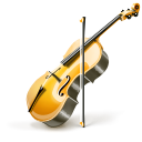 instrument, Violin Black icon