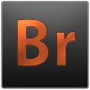Br, bridge, adobe DarkSlateGray icon