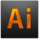 Ai, adobe, illustrator DarkSlateGray icon