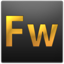 Fw, adobe, Fireworks DarkSlateGray icon