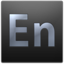 adobe, Encore, En Icon