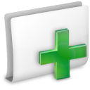new, Folder WhiteSmoke icon