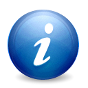 Info, Get SteelBlue icon