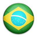 brazil, of, flag Black icon