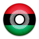 flag, Malawi, of Black icon