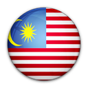 of, flag, malaysia Black icon
