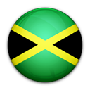 Jamaica, flag, of Black icon
