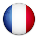 france, flag, of Black icon