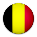 of, Belgium, flag Black icon