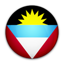 antigua, barbuda, And, of, flag Black icon