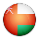 Oman, of, flag Black icon