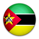 of, Mozambique, flag Black icon