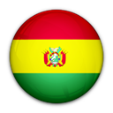 Bolivia, flag, of Black icon