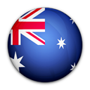 flag, of, Australia Black icon